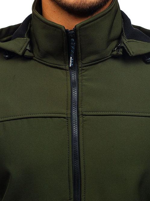 Men's Lightweight Softshell Vest, Windproof Jacket for Running Hiking Travel