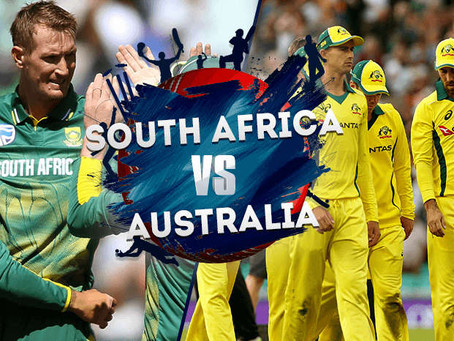 Australia vs South Africa, ICC World Cup 2019
