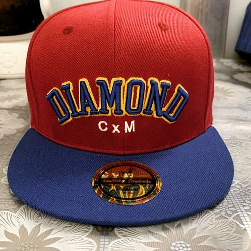 Embroidery Hat Long Truck Fit Adjustable Baseball Cap