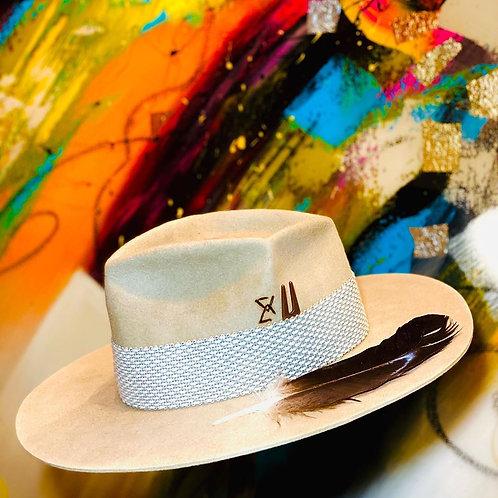 Wool Floppy Hat Felt Fedora Wide Brim Bucket Women Cloche Bowler Cap Crushable