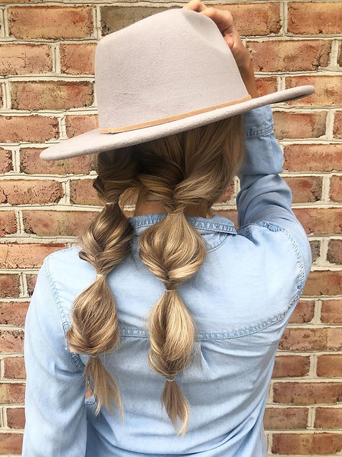 Teardrop Fedora Hat - 100% Wool Felt - Crushable for Travel - Water Resistant