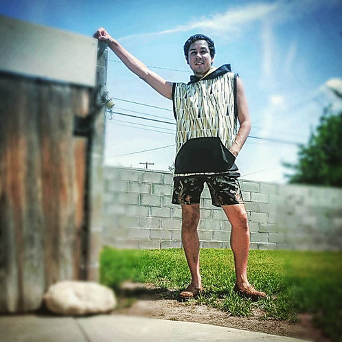 Customized Men's Sleeveless Beach Tank Tops, Fitness Shirts, Size S-3XL