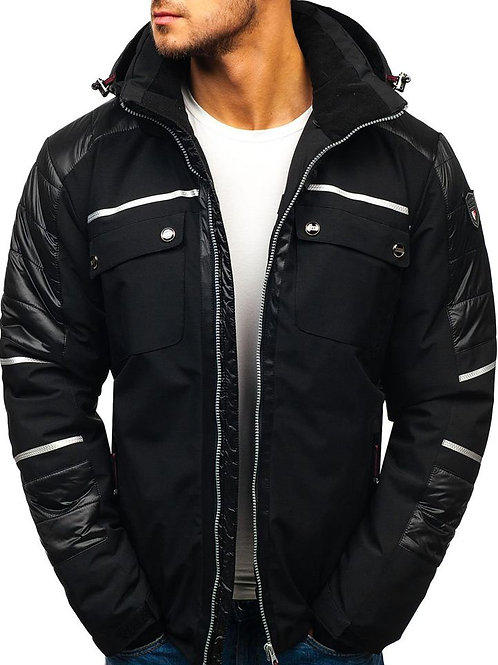 Men's Long Sleeve Fluffy Faux Fur Coat, Men's Winter Warm Faux Fur Overcoat