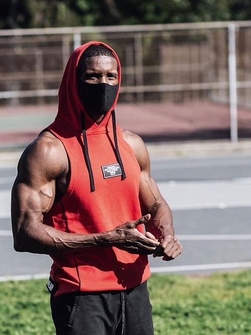 Customized Men's Bodybuilding Tapered Slim Fit Sweatshirts Active Hoodies