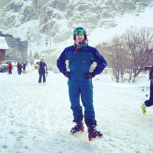 Men's Soft Shell Fleece Lined Ski Pants Winter Lightweight Hiking Cargo Pants