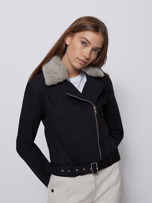 Womens Hooded Faux Fur Lined Warm Coats Outwear Winter Long Jackets