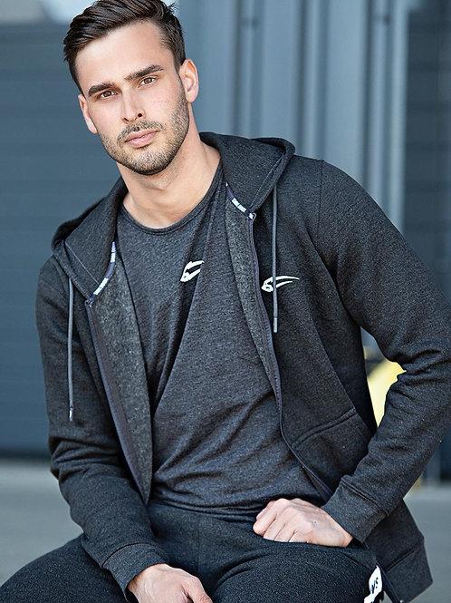 Fleece Hoodies for Men Zipper Lightweight Spring Long Sleeve Active Men's Jacket