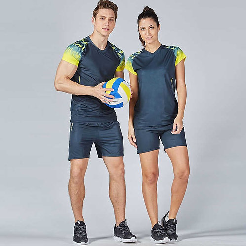 Men's Volley ball Shirts Quick Dry Short/Long Sleeve Polo Athletic Casual TShirt