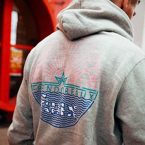 Men's Pullover Multi-Color Logo Hoodie, Amals Exclusive