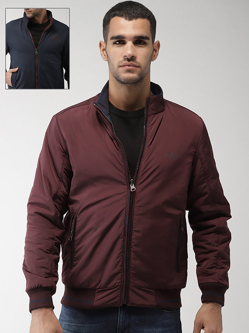 Customized Men's Jacket Casual Zipper Down Ripped Jacket Coat Outwear