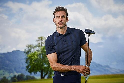 Men's Casual Short Sleeve Moisture Wicking Performance Golf Polo