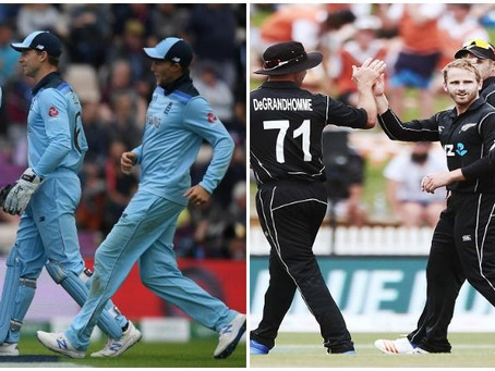New Zealand vs England, ICC World Cup 2019