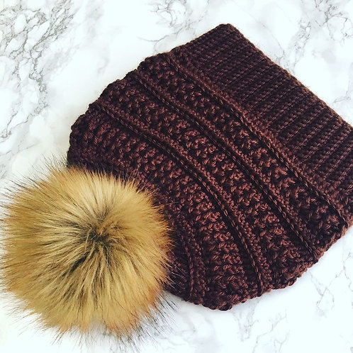 Beanie Winter Knit Hat for Women Men with Kitty