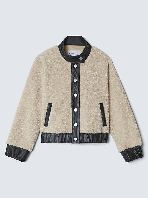 Women's Soft Long Sleeve Zip-up Faux Minx Fur Fleece Winter Jacket