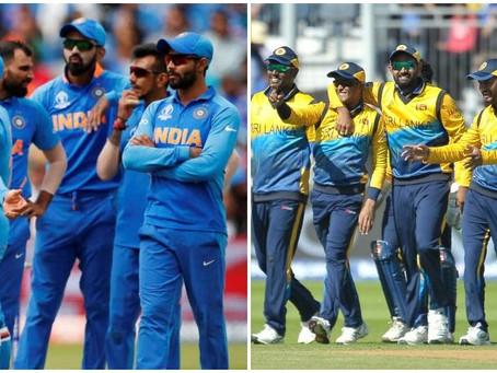 India vs Sri Lanka, ICC World Cup 2019