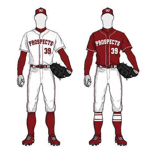 Men's Long Sleeve Moisture Wicking Athletic Shirts UPF 50+ UV Outdoor Baseball