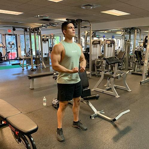 Men's Zip Up Workout Tank Tops Hooded Bodybuilding Fitness Muscle Cut T Shirt