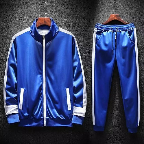 Casual Pullover Hoodie Crop Top Drawstring Sweat pant 2Piece Sport Tracksuit