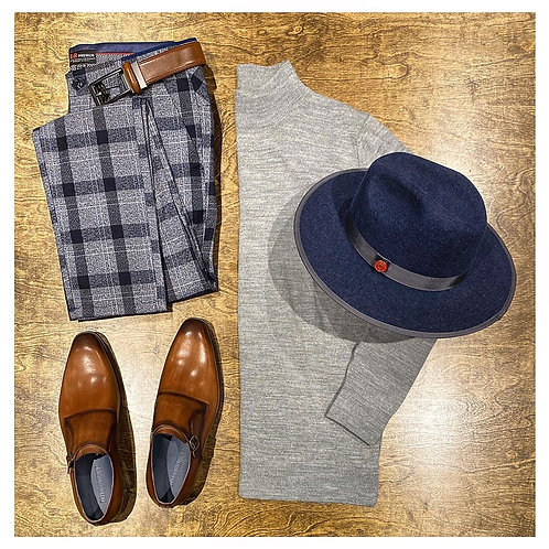 Hats for Men and women by King & Fifth | Wide Brim Fedora with Low Crown + Felt