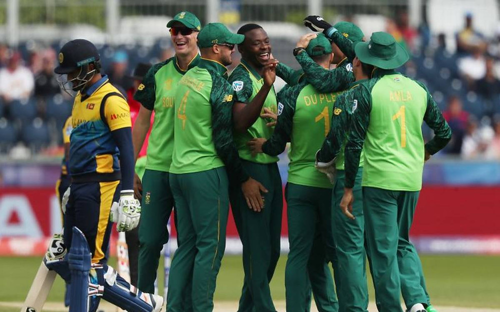 South africa won by 9 wickets