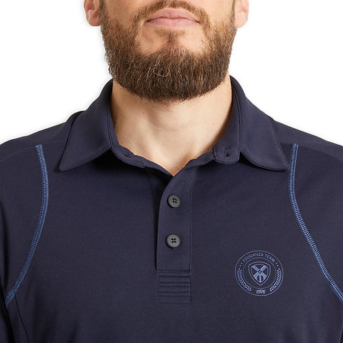 Customized Men's Polo Golf Shirts Quick Dry Moisture Running Training T-Shirt