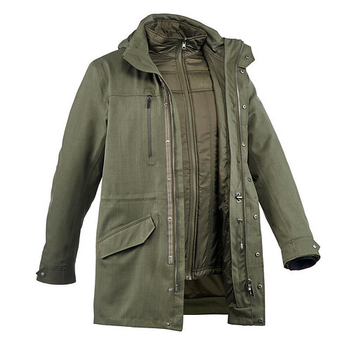Customized Men Trench Coat Winter Long Jacket Double Breasted Overcoat