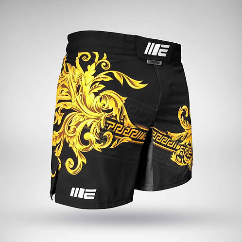 MMA Shorts for Kick Boxing Training and Cage Fighting, Breathable Shorts