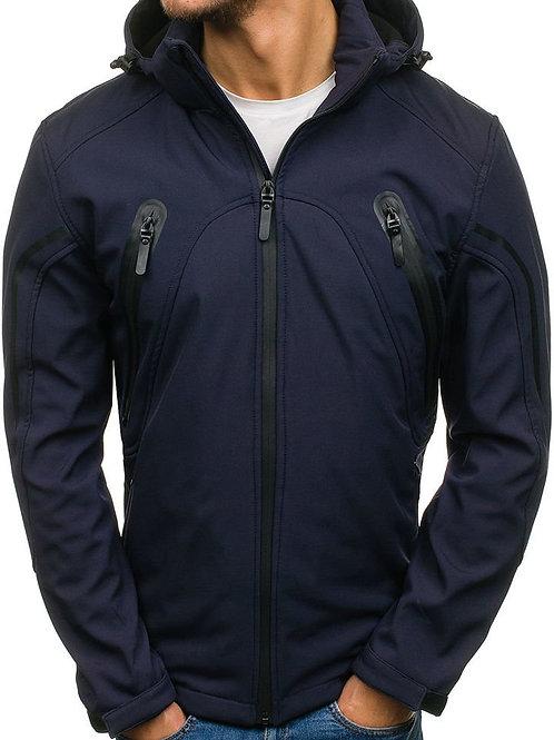 Men's Lightweight Softshell Coat Sportswear Zipper Windbreaker Bomber Jacket