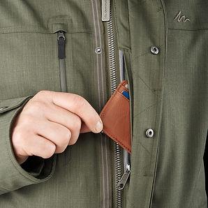#17 Men's 3-In-1 Jacket Travel 700 - Kha