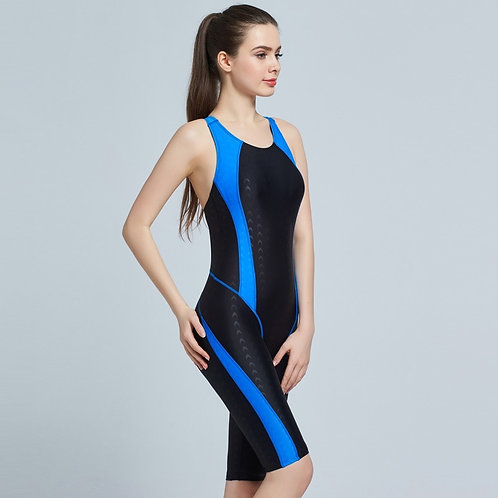 Customized Women's One Piece Coverage Swimsuit