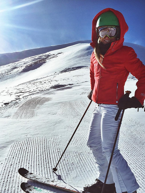 Women's Waterproof Softshell Fleece Lined Ski Snow Insulated High Rise Hick Pant