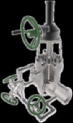 xanik | pressure seal gate valve bypass