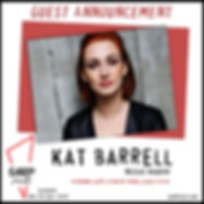 Kat Barrell Announcement