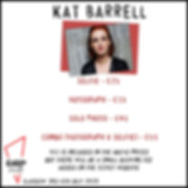 Kat Barrell Prices