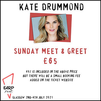 Kate Sunday Meet and Greet £65