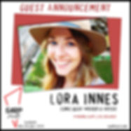 Lora Innes Announcement