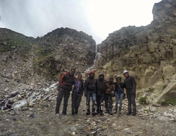 Right after a stream crossing-Spiti