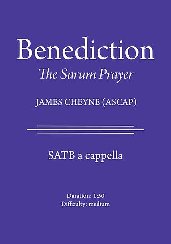 Benediction - The Sarum Prayer