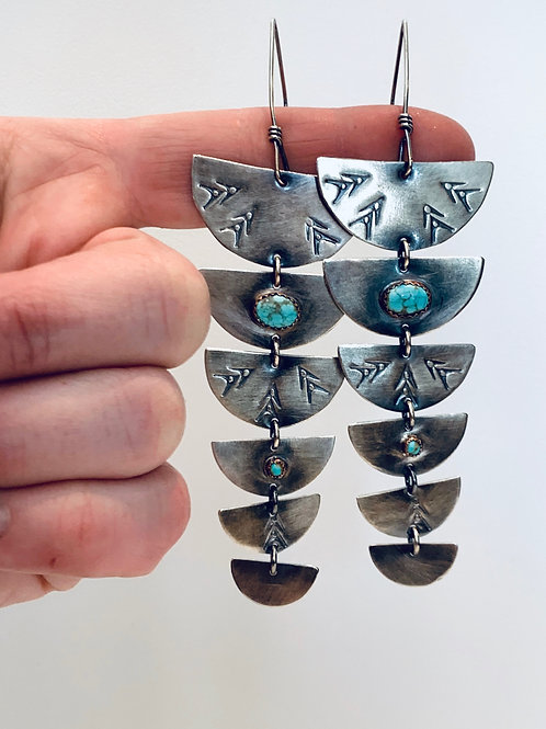 Amy Sabatier Designs Kirana Duster Earrings