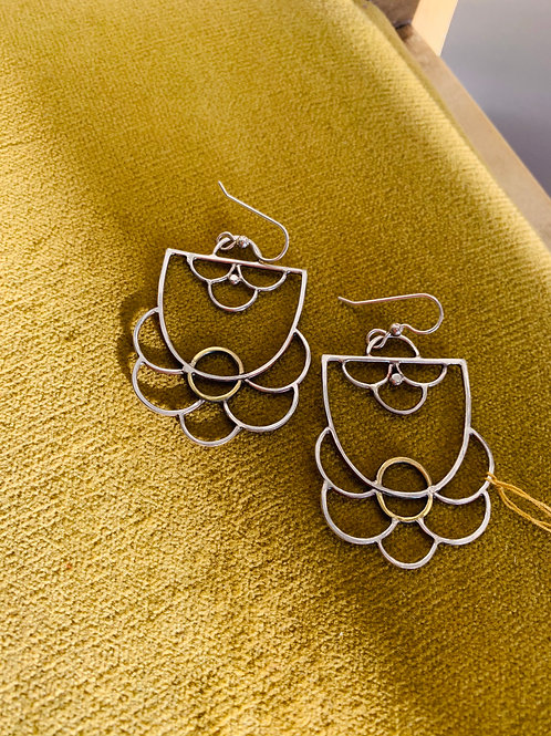 Gina Mount Sterling Silver Earrings