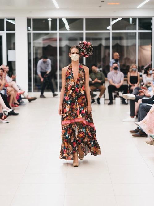 Alma Mia Halter Gypsy Dress
