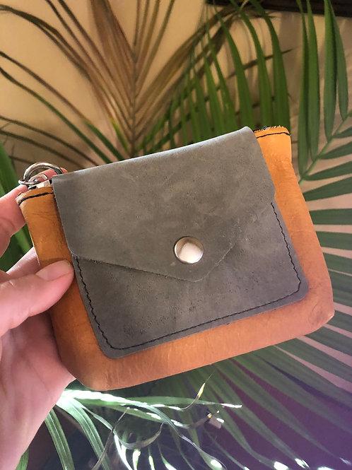 Strey Designs Nomad Wallet grey and ochre