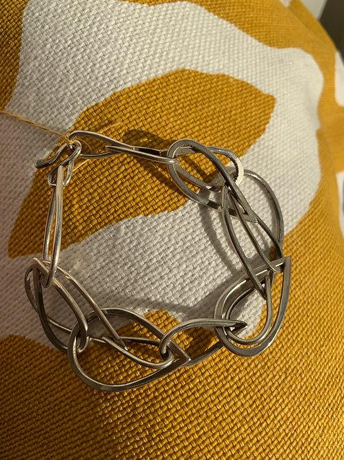 Gina Mount tear drop link bracelet