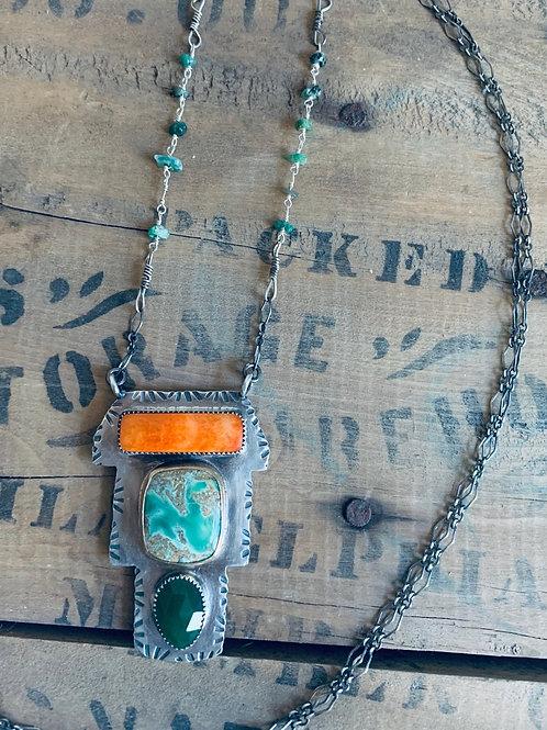 Amy Sabatier Designs Talisman Necklace