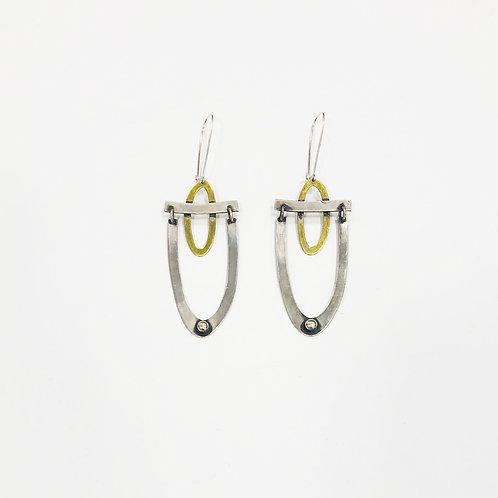 Gina Mount U Drop Earrings