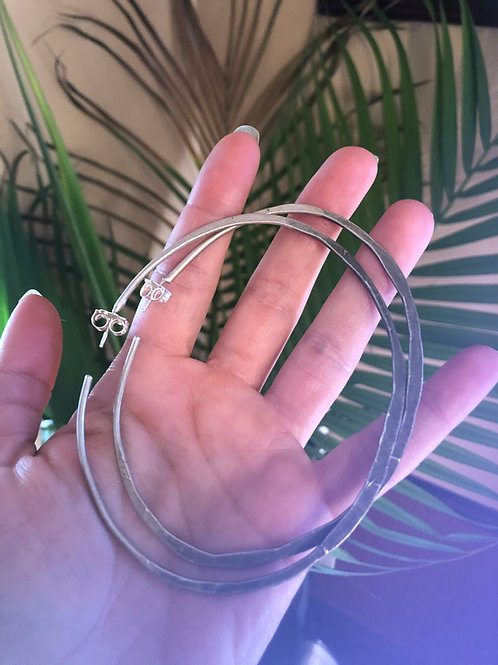 3jag design xl oval hombre hoops