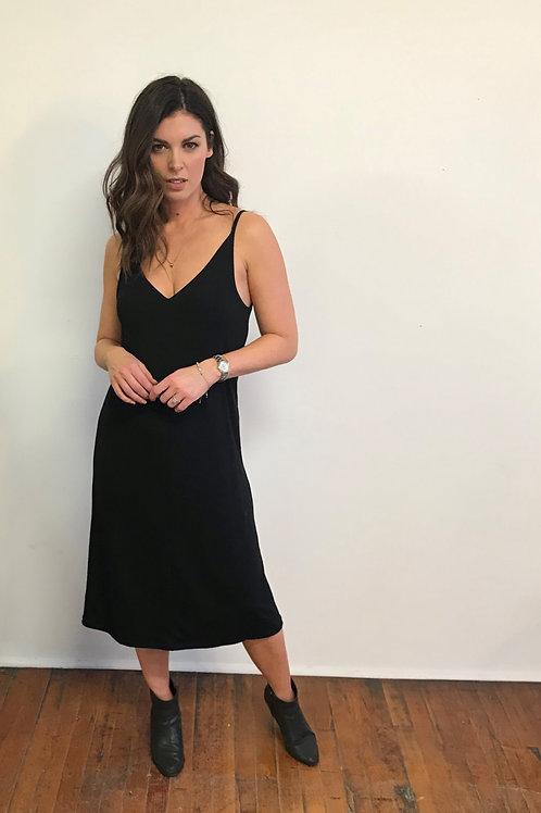 Tessa Louise Slip Dress Black or Sage