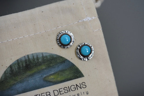 Amy Sabatier Designs Turquoise Studs