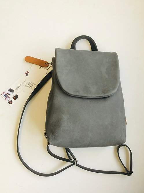 Strey Designs Minimal Circuit Backpack in Dove Grey