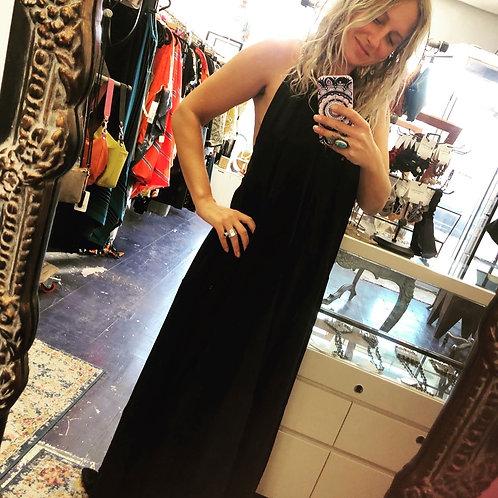 Alma Mia Gypsy Dress Black